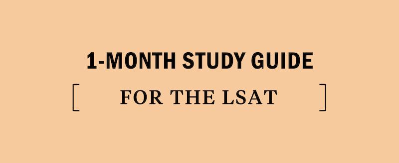 lsat-study-guide-1-month-30-days-prep-schedule