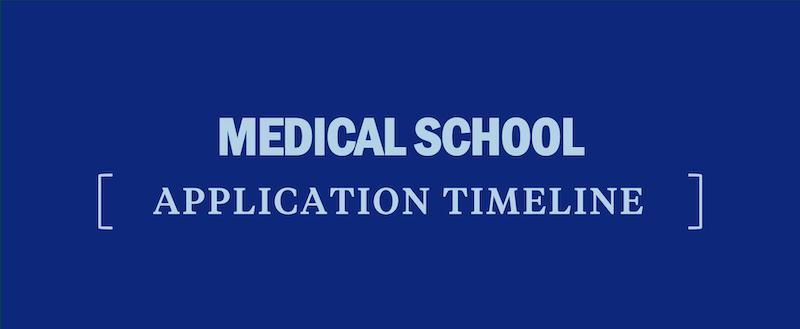 med-school-application-timeline-medical-school